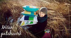Jak si ušít obal na knihu | Mišin patchwork