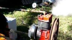 Briggs and Stratton Steam Engine Conversion #2, via YouTube.