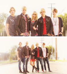 R5!!!!!!!!!! Riker, Ross, Rocky, Rydel, Ratliff <3 #R5Family