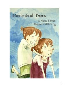 UNidentical Twins by Nancy S. Mure, Robyn Ng | MagicBlox Online Kid's Book