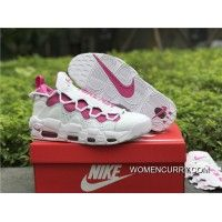 Women Men New Release Sneaker Room X Nike Air More Money White   Pink.  womencurry.com f0570d84e
