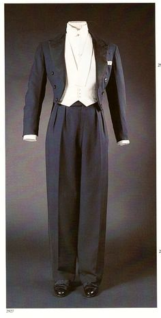 Full Dress Clothes as Worn by the Duke of Windsor