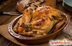 Herb Roasted Turkey Recipe via @SparkPeople