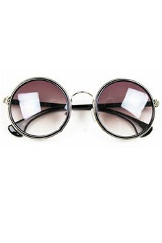 Sweet Vintage Round Sunglasses