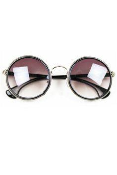 Sweet Vintage Round Sunglasses