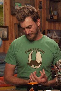 Rhett's feelin' good today. (x)