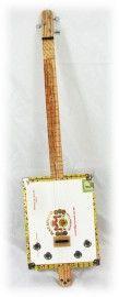 C. B. Gitty Cigar Box Guitar #4: BIG Macanudo 3-Stringer