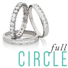 Full Circle | You found The One, and you're marrying them. So now it's time to find the perfect wedding ring. Here's our handy guide to getting it right. http://www.stephensjewellers.com.au/blog/full-circle/#StephensJewellers #Jewellery #EngagementRing #Weddingband
