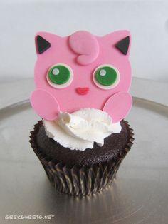 Jigglypuff Cupcake, Pokémon