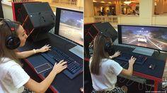 HP OMEN X ~ Ioana Radu ~ gaming machine World Trade Center, Office Phone, Burj Khalifa, Landline Phone, Cuba, Monitor, Gaming, Tech, Girl Room Decor