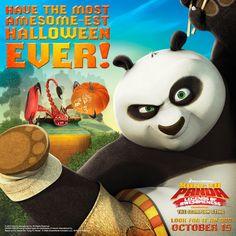 Kung Fu Panda Hallowe'en Card #spon