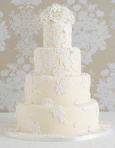 Mariage - Special Wedding Cakes ♥ Wedding Cake Fondant délicieux