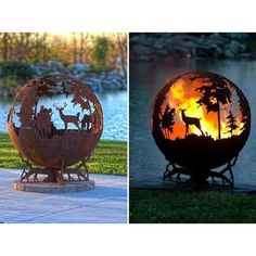 How sick is this fire pit!?! #hunting #hunting_the_wild