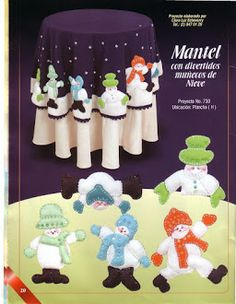 Album Archive - 193 Natal Pano Lency - Creando Ideas n. Christmas Holidays, Christmas Crafts, Album, Desserts, Pattern, Creando Ideas, Queen, Google, Diy And Crafts