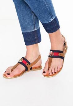 6b2808ffcfc04c JULIA - T-bar sandals - cognac - Zalando.co.uk. Tommy Hilfiger.