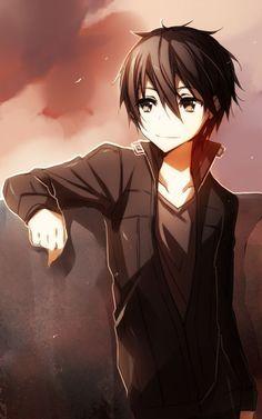 Kirito from swords art online