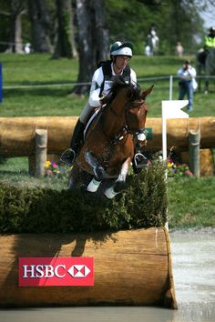 Will Coleman and Twizzel  XC - Rolex 2012