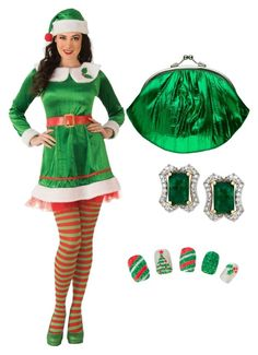 """""""Elf"""" by asiamonae06 ❤ liked on Polyvore"""