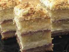 Prăjitură fină cu krantz Russian Desserts, Romanian Food, Romanian Recipes, Best Cheese, Truffles, Baked Goods, Caramel, Bakery, Cheesecake