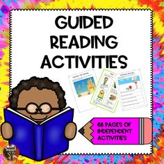 Year 1 UK Suitable for year 1 possibly year 2 A selection of guided reading activities to save you time and stress! Tes Resources, Teaching Resources, Guided Reading Activities, Activities For Kids, Back To School Essentials, Year 2, Eyfs, Stress, Kid Activities