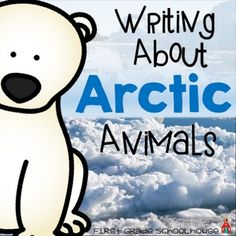 Arctic Animals includes writing printables for thirteen different Arctic animals: Arctic fox, Arctic lemming, polar bear, Arctic reindeer, Arctic skua, snowy owl, Arctic wolf, beluga whale, harp seal, narwhal, Arctic puffin, snowshoe hare, and Arctic walrus.