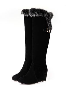 Winter fashion warm pure color comfortable boots for women Z-XS-02