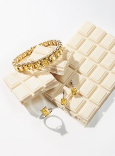 Editorial | Jewellery & Watches | Studio Kanji Ishii | #jewellery #editorial #white #chocolate
