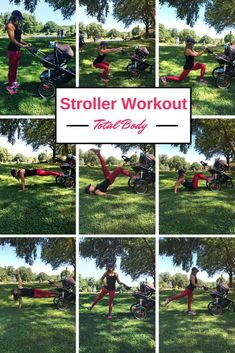 and baby workout Total body toning stroller workout Total body toning stroller workout moms can perform with baby without any equipment needed. Exercises to strengthen and tone the entire body using your stroller Outdoor Workouts, At Home Workouts, Running With Stroller, Stroller Workout, Stroller Strides, Outdoor Training, Total Body Toning, Baby Workout, Postnatal Workout