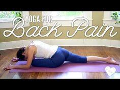 Yoga For Back Pain - Yoga Basics - YouTube