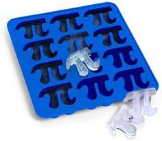 Pi Symbol Ice Cube Tray | Graduation Party Ideas