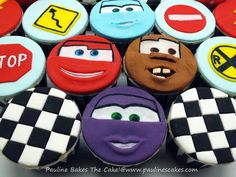 """""""Cars"""" Lightning McQueen! - Cake by Pauline (Polly) Soo - Pauline Bakes The Cake! - CakesDecor"""