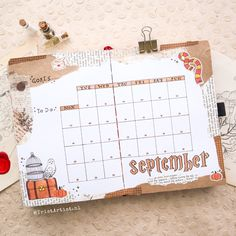 Bullet Journal September, Bullet Journal Goals Page, Bullet Journal Lettering Ideas, Bullet Journal Cover Ideas, Bullet Journal Themes, Bullet Journal Travel, January Bullet Journal, Bullet Journal Notebook, Bullet Journals