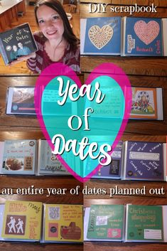 Year of Dates Gift: 12 Pre-Planned, Pre-Paid Dates to Enjoy All Year! 12 Dates Of Christmas, Christmas Gifts, Xmas, Cute Date Ideas, Gift Ideas, Fun Ideas, Months In A Year, 12 Months, Party Gifts