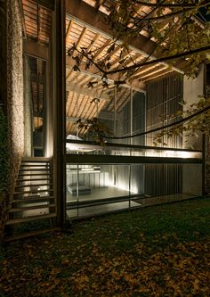 RCR Arquitects - Row house renovation, Olot 2012. Via, 2, photos ©  Hisao Suzuki, Eugeni Pons, Pep Sau.
