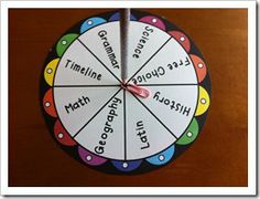 Memory Work Spinner (free pdf printable) we are using for Classical Conversations (CC)