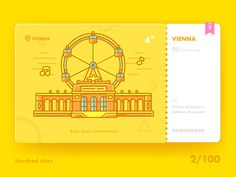 One hundred city ICONS:VIENNA / Sean_Song