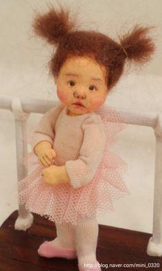 Baby ballet class Min doll factory