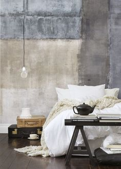 Japanese Aesthetic: 35 Wabi Sabi Home Décor Ideas   DigsDigs - perfect for a Japanese-themed bedroom!