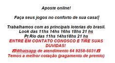 Whatsapp atendimento 64- 9258-5031