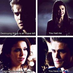 #TVD The Vampire Diaries Stefan & Elena
