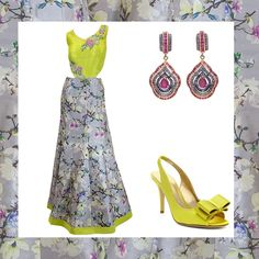 Flowers in Winter? Yes, please! Make a statement in this unique, one of a kind lehenga. Shop now! - LuxShoppe.com  #katespadeny #amenthyst #designer #luxshoppe #inspirations #weddinginspirations #anarkali #lehenga Inspiration Boards, Style Inspiration, Anarkali Lehenga, Asian Bridal, Online Boutiques, Bridal Dresses, Wedding Events, Designer Dresses, Shop Now