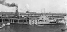 Steamboat Era, Ohio River, Louisville KY