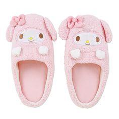 マイメロディ ルームシューズ【楽天市場】my melody slippers <3