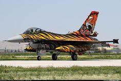 Lockheed Martin (TUSAS) F-16CJ Fighting Falcon  92-0014 (cn 4R-115) Tiger Meet 2015/new tiger colouring 192.Squadron