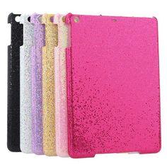 Glitter Bling Skinning Plastic Case Cover For iPad Air