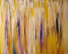 Yellow, purple painting