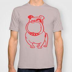 Bulldog T-shirt by drawgood - $18.00