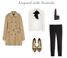 Leopard with Neutrals   How She'd Wear It with Style and Cheek