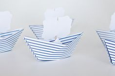 RESERVED for Anastasia 16 Paper Boat Name Place by NANAZOOLAN