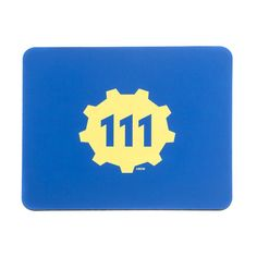 In collaboration with SteelSeries, the Bethesda Store has brought you the Vault 111 SteelSeries QcK+ Mousepad. The QcK+ Mousepad is composed of high quality cloth and a rubber base; this supersized mousepad is especially ideal for people using a low sensitivity or high resolution mouse.  Super sized cloth mouse pad 450 mm x 400 mm x 4 mm (17.7in x 15.7in x 0.16in) Dense Mass eliminates uneven surfaces